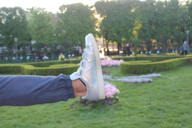 Adidas Stan Smith x Nigo silver silber