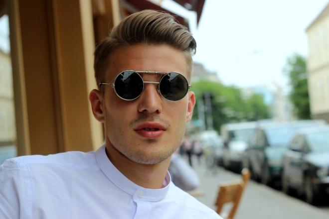 spitfire asos sunglasses white granddad dennis glanz