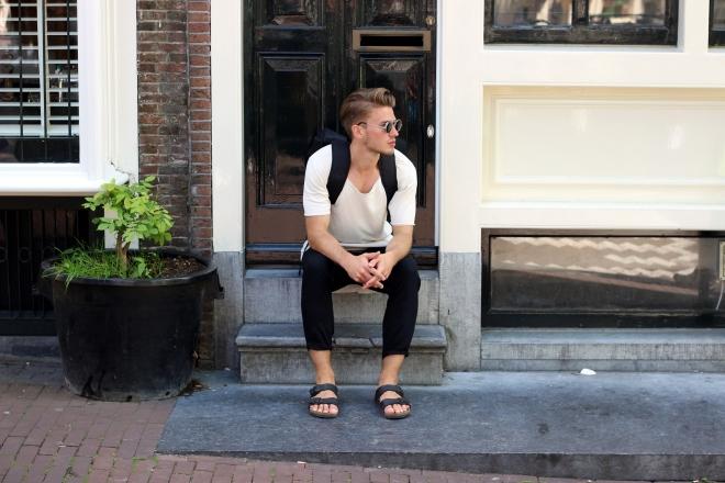 Dennis Glanz Amsterdam rockamora adidas