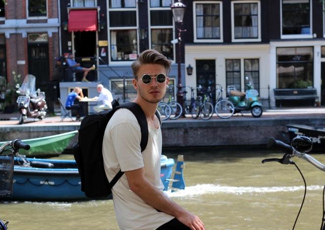 Dennis Glanz Adidas Amsterdam rockamora