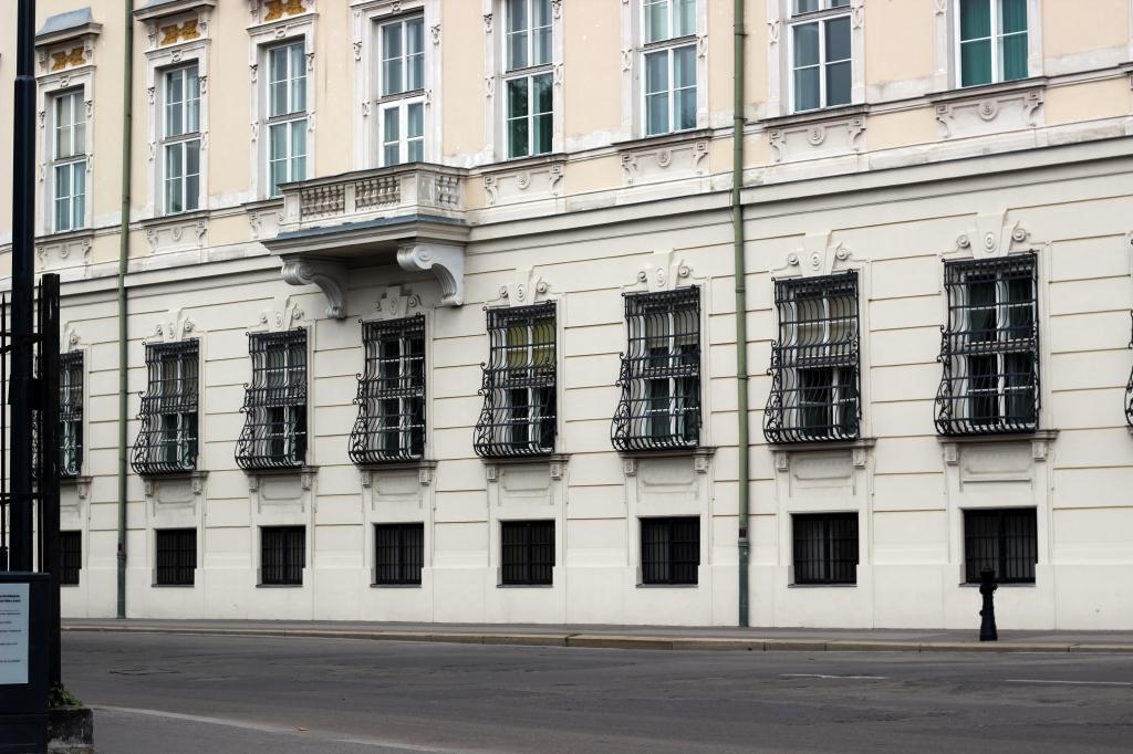 Wien Heldenplatz MQ Nationalbib